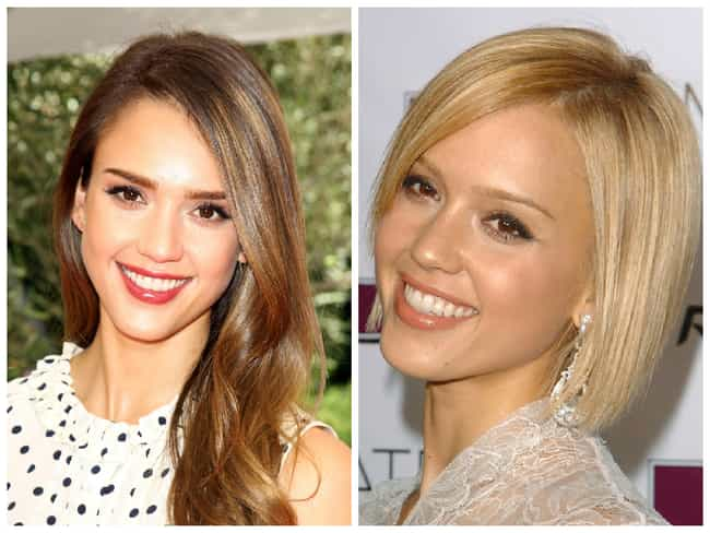 Jessica Alba is listed (or ranked) 1 on the list Celebrities Who Dyed Their Hair Blonde
