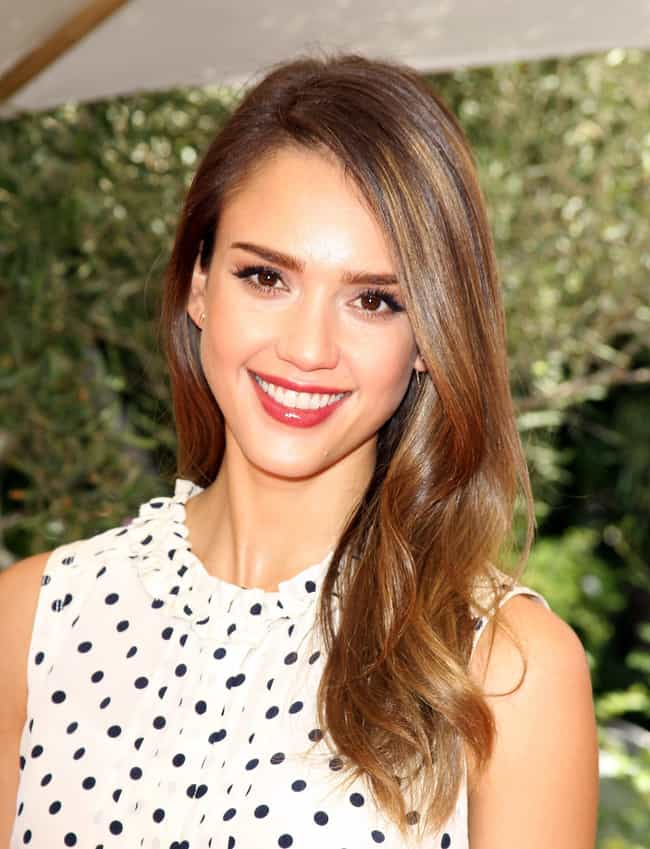 Jessica Alba is listed (or ranked) 3 on the list 17 Delicious Celebrity Family Recipes