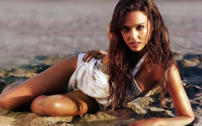 Jessica Alba is listed (or ranked) 2 on the list The Hottest Catholic Women Under 40