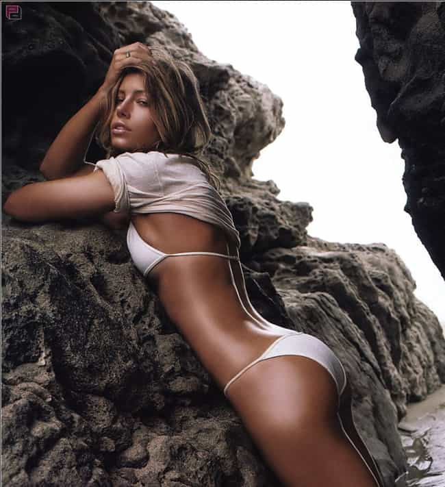 Jessica Biel is listed (or ranked) 3 on the list Which of These Celebs Has the Best Butt?