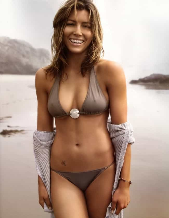 Jessica Biel is listed (or ranked) 2 on the list 21 Celebrities Who Do CrossFit