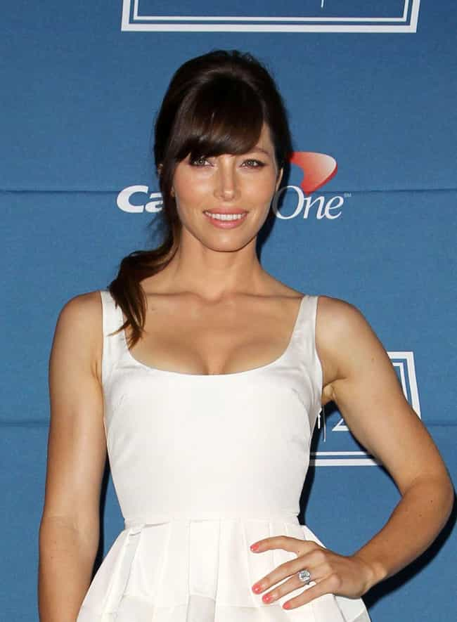 Jessica Biel is listed (or ranked) 1 on the list Female Celebs With The Best Arms