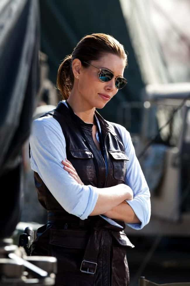 Jessica Biel is listed (or ranked) 1 on the list The Sexiest Women in Action Movies