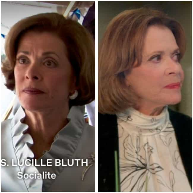 Jessica Walter is listed (or ranked) 3 on the list How the Cast of Arrested Development Has Aged Since the First Season