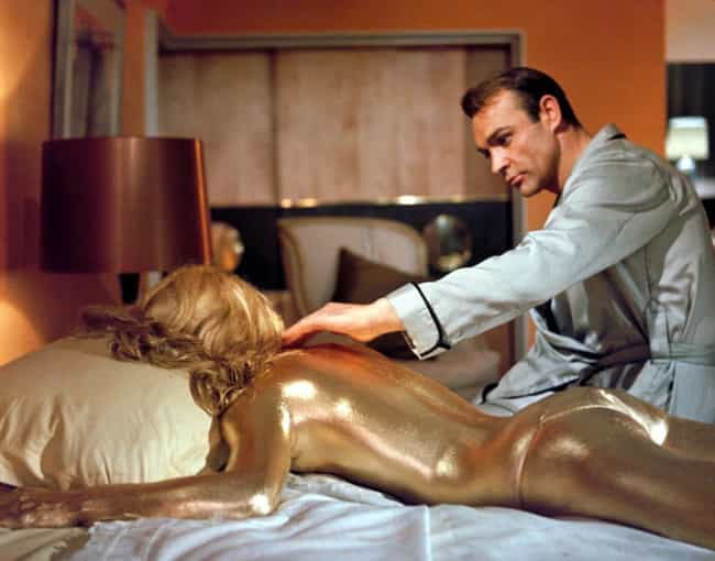 Jill Masterson is listed (or ranked) 2 on the list Every Woman Who Has Died From Sleeping With James Bond