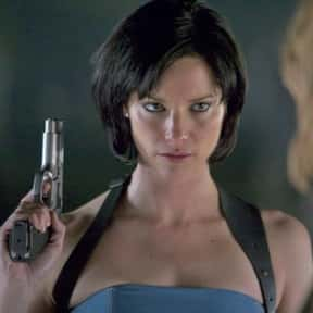 Jill Valentine is listed (or ranked) 5 on the list The Greatest Zombie Slayers in Movies