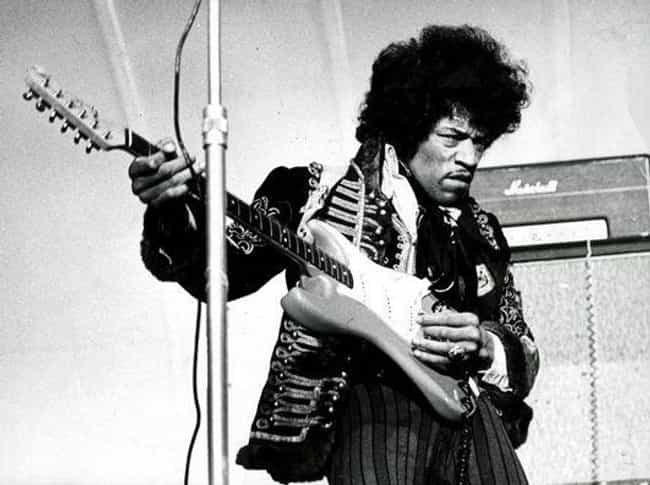 Jimi Hendrix is listed (or ranked) 1 on the list The Greatest Guitarists Of All Time