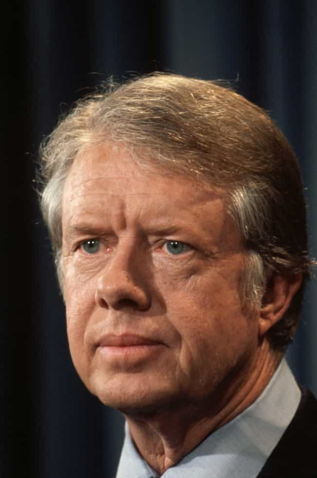 Jimmy Carter is listed (or ranked) 3 on the list The Worst U.S. Presidents