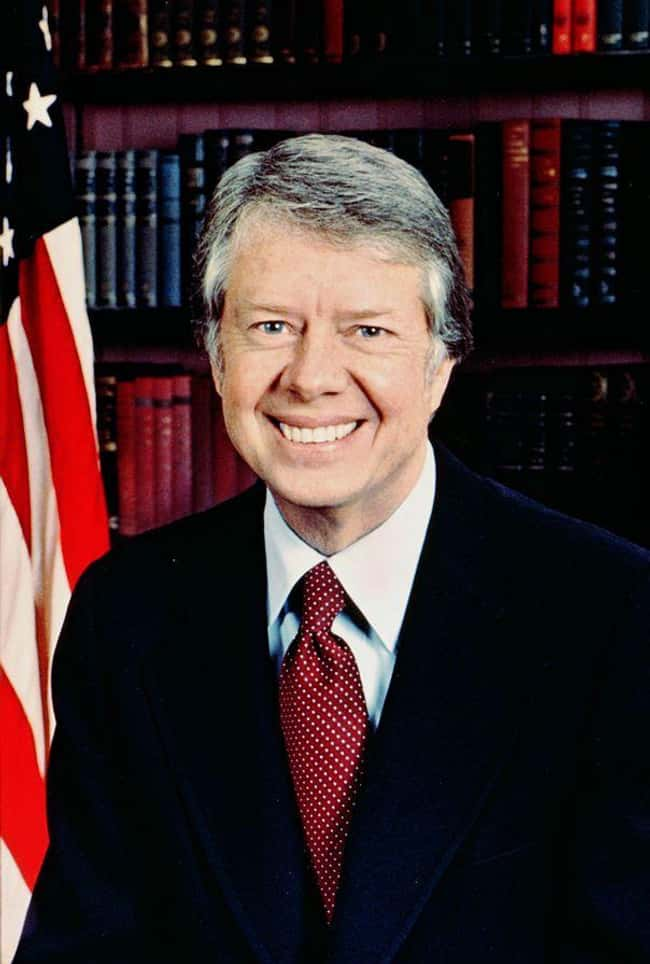 Jimmy Carter is listed (or ranked) 38 on the list Every U.S. President & Every Medical Problem They've Ever Had