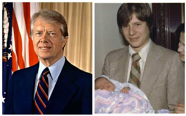 Jimmy Carter is listed (or ranked) 4 on the list Historical Figures Whose Descendants Looked Just Like Them