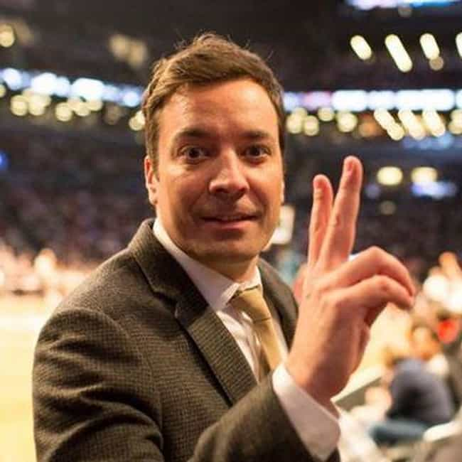 Jimmy Fallon is listed (or ranked) 8 on the list Celebrity Nets Fans