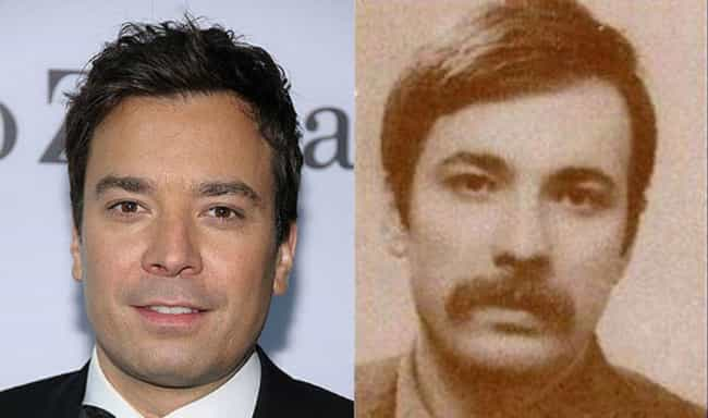 Jimmy Fallon is listed (or ranked) 2 on the list 50 Celebrities Who Look Exactly Like People From History