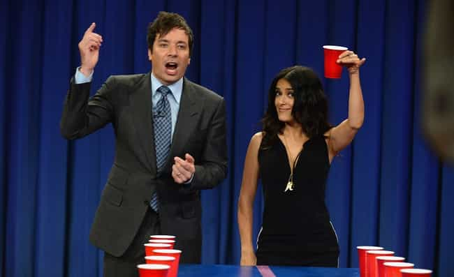 Jimmy Fallon is listed (or ranked) 1 on the list TV Personalities You'd Want to Play Drinking Games With