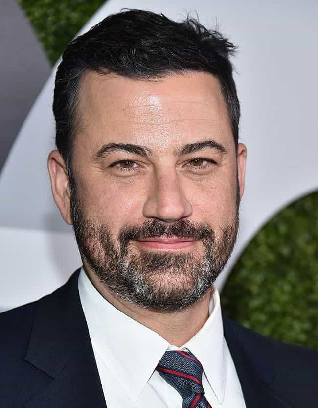 Jimmy Kimmel is listed (or ranked) 3 on the list 14 Famous People with Narcolepsy