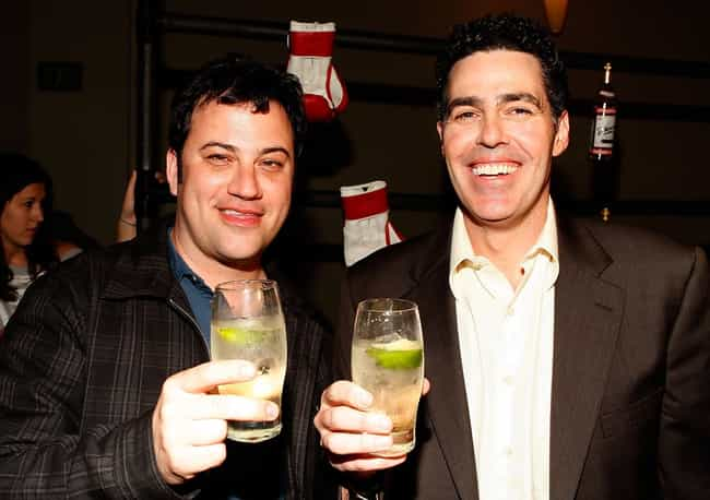 Jimmy Kimmel is listed (or ranked) 4 on the list TV Personalities You'd Want to Play Drinking Games With
