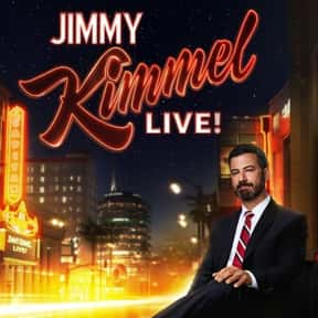 Jimmy Kimmel Live! is listed (or ranked) 13 on the list The Best Late Night Talk Shows of All Time