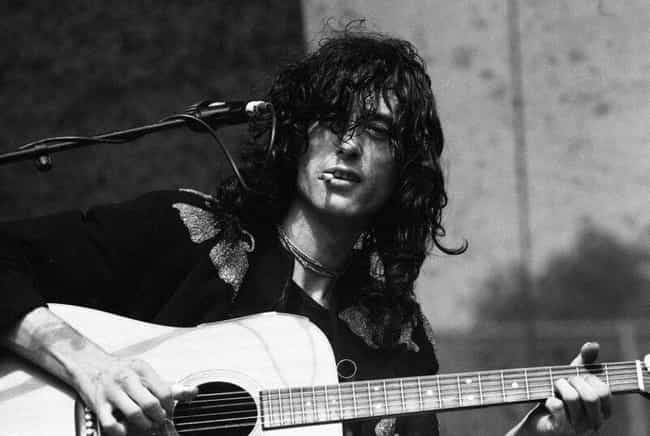 Jimmy Page is listed (or ranked) 2 on the list The Greatest Guitarists Of All Time