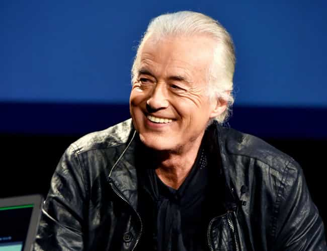 Jimmy Page is listed (or ranked) 1 on the list The Greatest Rock Guitarists of the 1970s