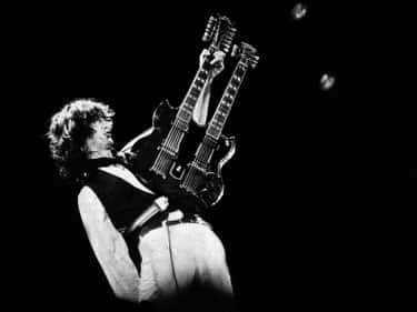 Jimmy Page is listed (or ranked) 2 on the list Every Member of Led Zeppelin, Ranked Best to Worst