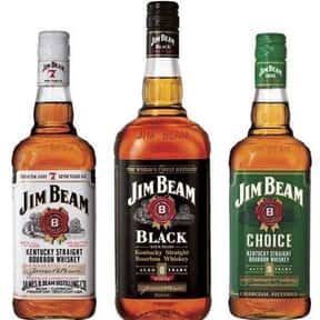 Jim Beam is listed (or ranked) 21 on the list The Best Bourbon Brands
