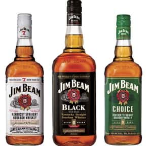 Jim Beam is listed (or ranked) 19 on the list The Best Top Shelf Alcohol Brands
