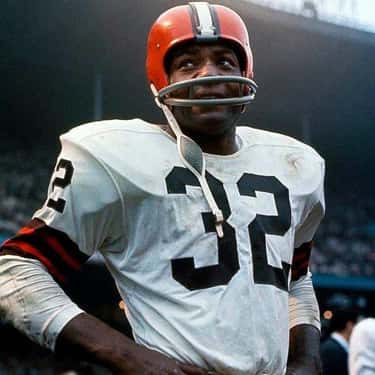 Jim Brown is listed (or ranked) 2 on the list The Best Athletes Who Wore #32