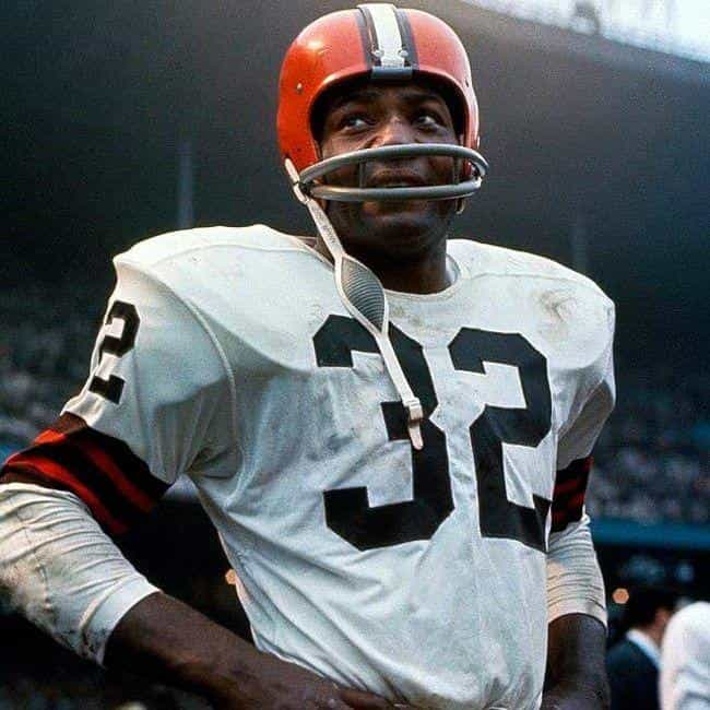 Jim Brown is listed (or ranked) 1 on the list The Best Athletes Who Wore #32
