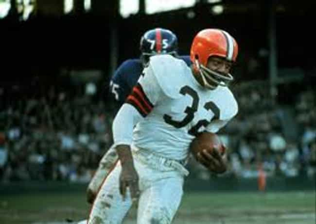 Jim Brown is listed (or ranked) 1 on the list The Top 10 Best Football Players of the 1960's