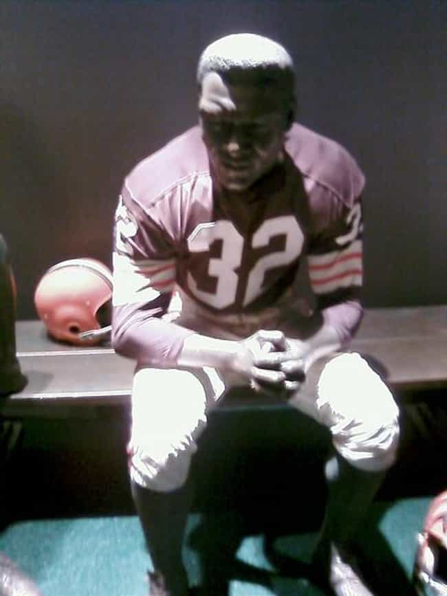 Jim Brown is listed (or ranked) 1 on the list Sports- Greatest NFL Fullbacks of All Time