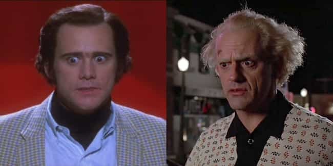 Jim Carrey is listed (or ranked) 4 on the list Who Would Star In 'Back to the Future' If It Were Made In The Present?