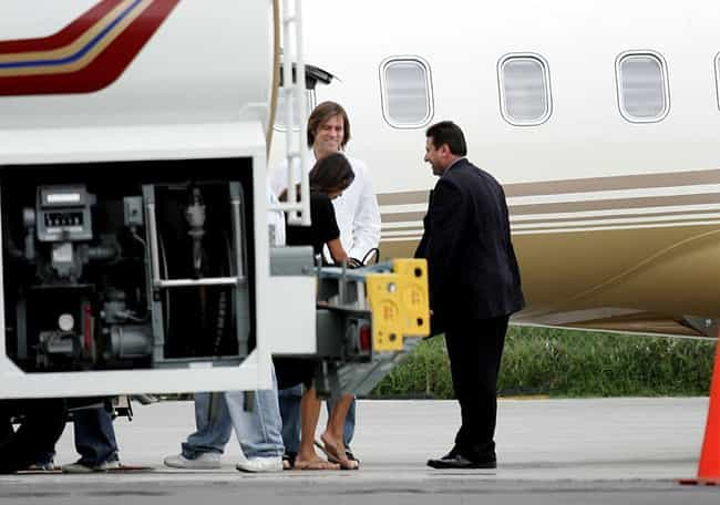 Jim Carrey is listed (or ranked) 3 on the list Celebrities With Their Own Private Jets