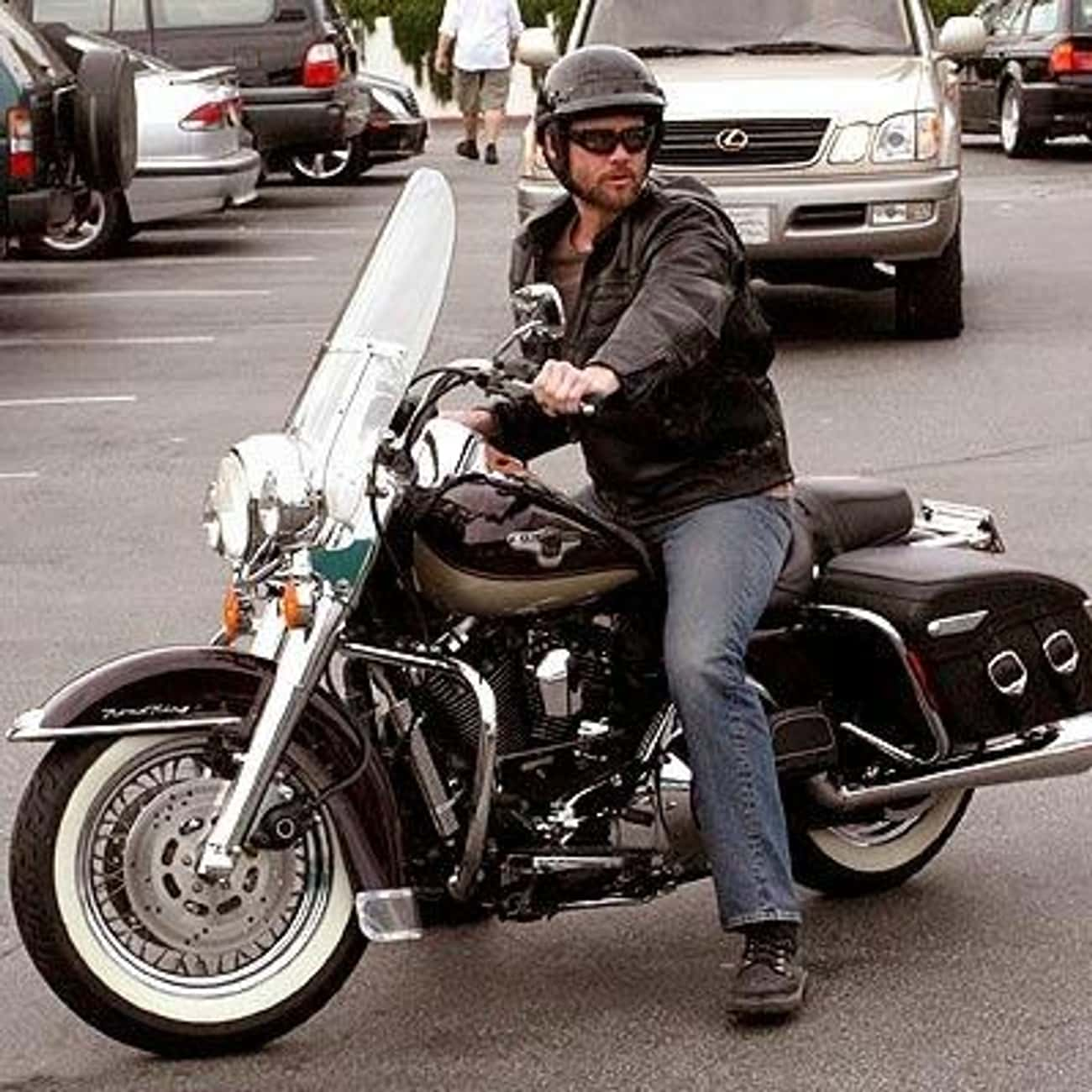 Jim Carrey is listed (or ranked) 3 on the list Actors Who Ride Motorcycles