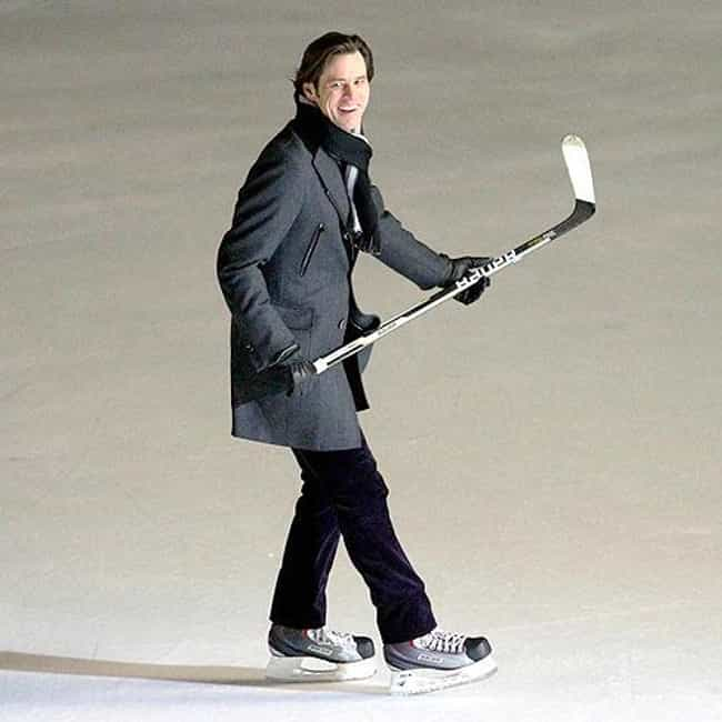 Jim Carrey is listed (or ranked) 5 on the list Celebrities Who Played Hockey in School