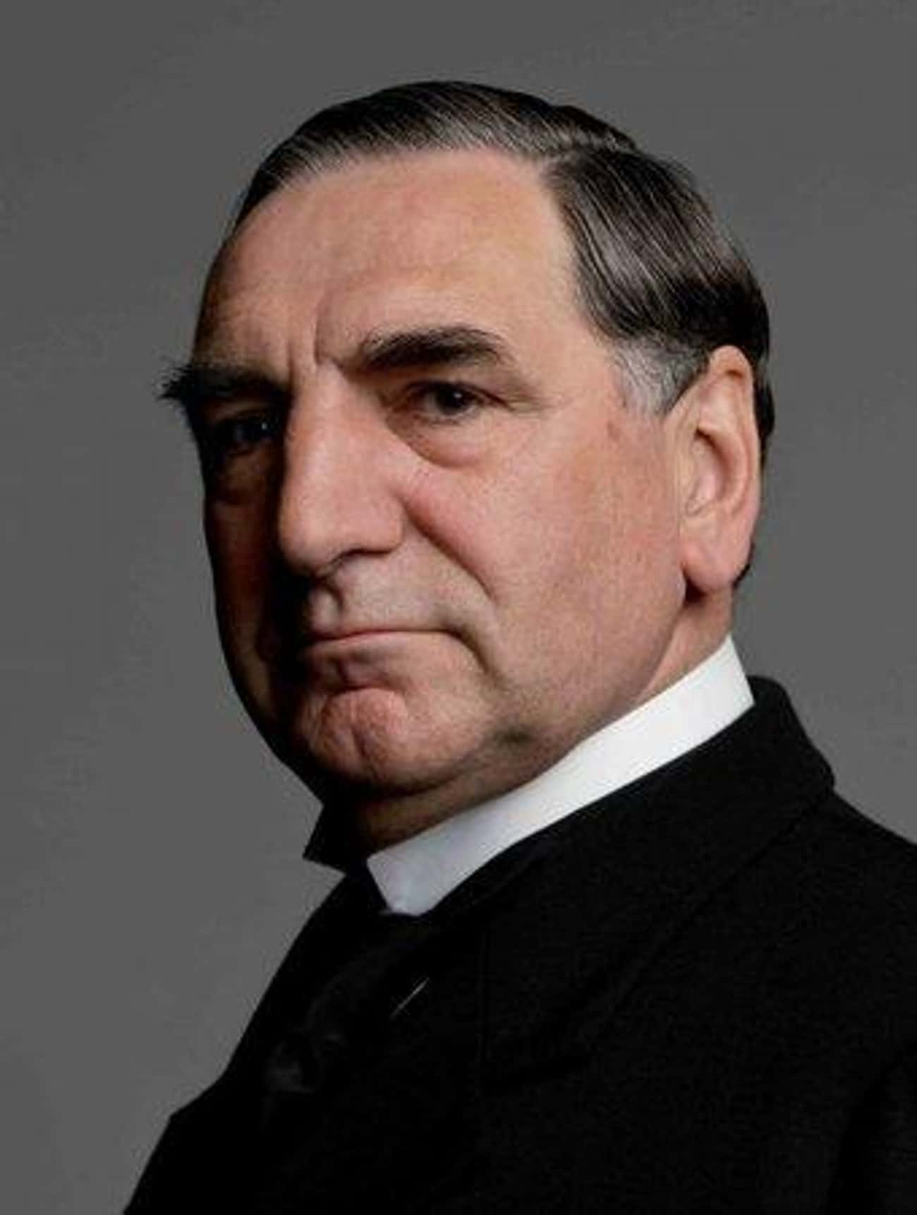 Jim Carter is listed (or ranked) 3 on the list The Best Downton Abbey Actors