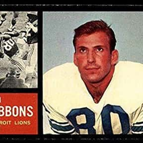 Jim Gibbons is listed (or ranked) 2 on the list The Best Detroit Lions Tight Ends Of All Time