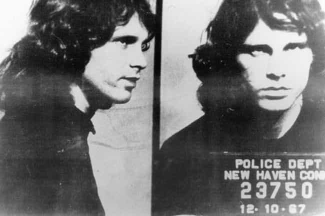 Jim Morrison is listed (or ranked) 2 on the list 17 Celebrities Charged with Indecent Exposure