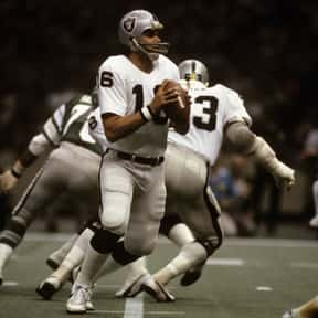 Jim Plunkett is listed (or ranked) 13 on the list The Best Oakland Raiders Of All Time