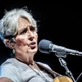 Joan Baez is listed (or ranked) 14 on the list Famous Boston University Alumni