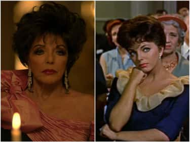 Joan Collins - 'Rally Round Th is listed (or ranked) 1 on the list Where You've Seen the American Horror Story Actors Before