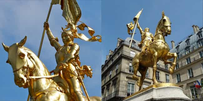 Joan of Arc is listed (or ranked) 1 on the list The Coolest Statues And Monuments Dedicated To Female Warriors