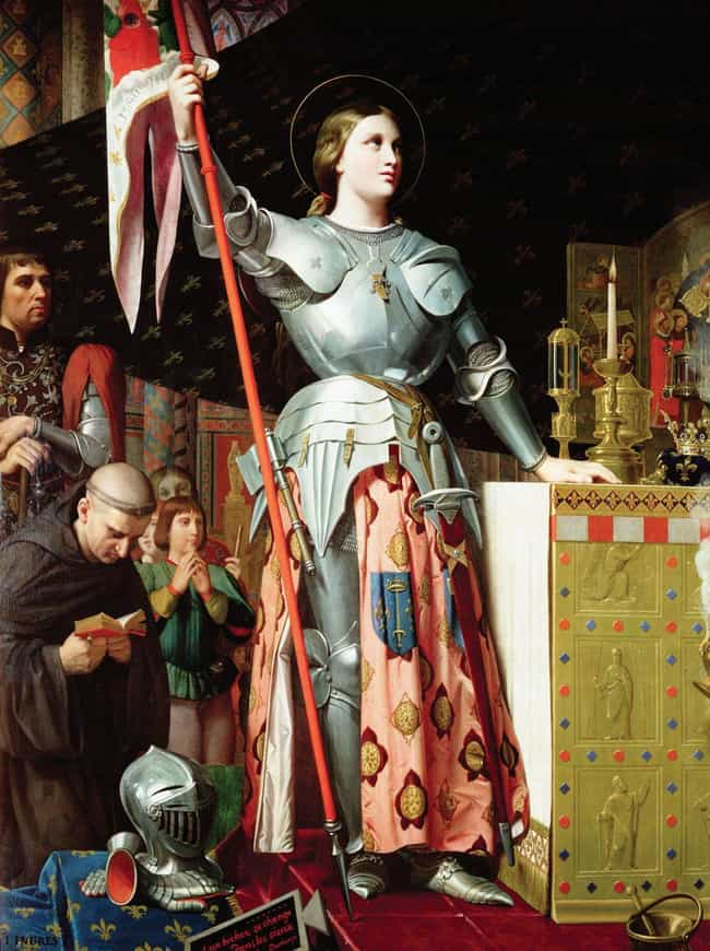 Joan of Arc is listed (or ranked) 3 on the list Firsthand Descriptions Of What 14 Historical Figures Really Looked Like