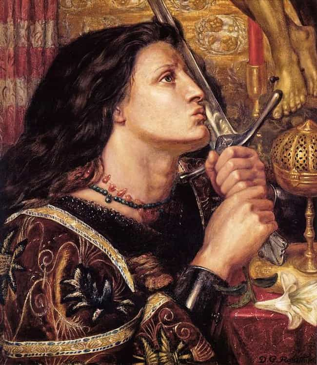 Joan of Arc is listed (or ranked) 4 on the list Mystics of Major Historical Importance