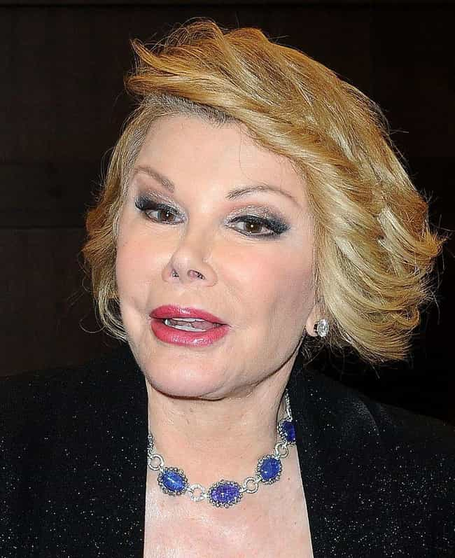 Joan Rivers is listed (or ranked) 3 on the list Famous Female Talk Show Hosts