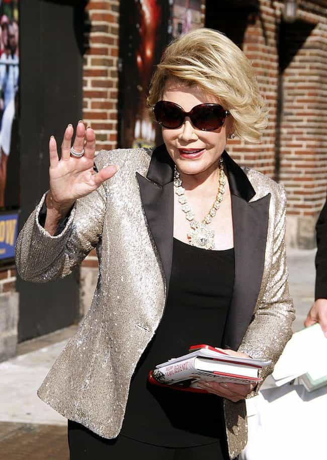 Joan Rivers is listed (or ranked) 5 on the list Celebrities Who Live In Brooklyn