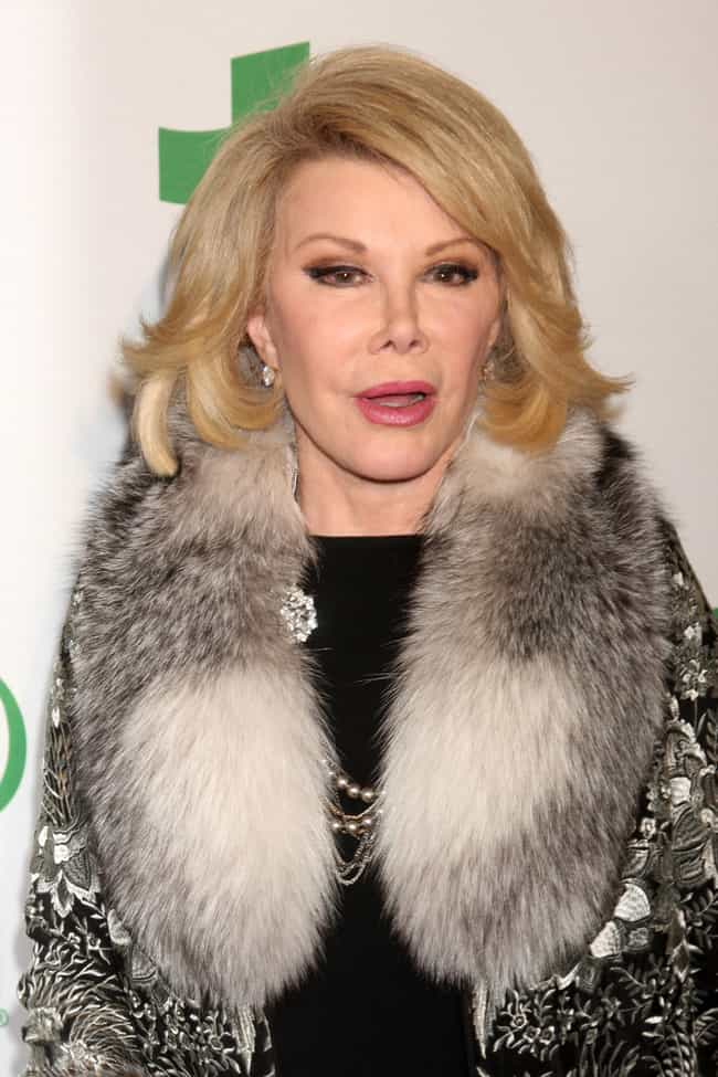 Joan Rivers is listed (or ranked) 8 on the list 80 Famous People with ADHD