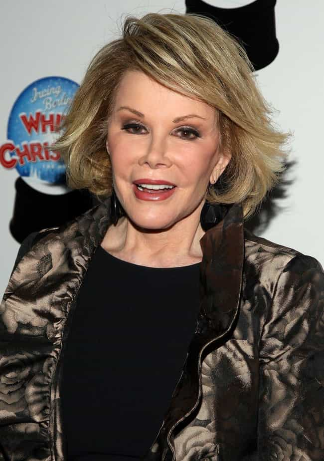 Joan Rivers is listed (or ranked) 4 on the list The Most Obvious Celebrity Plastic Surgery