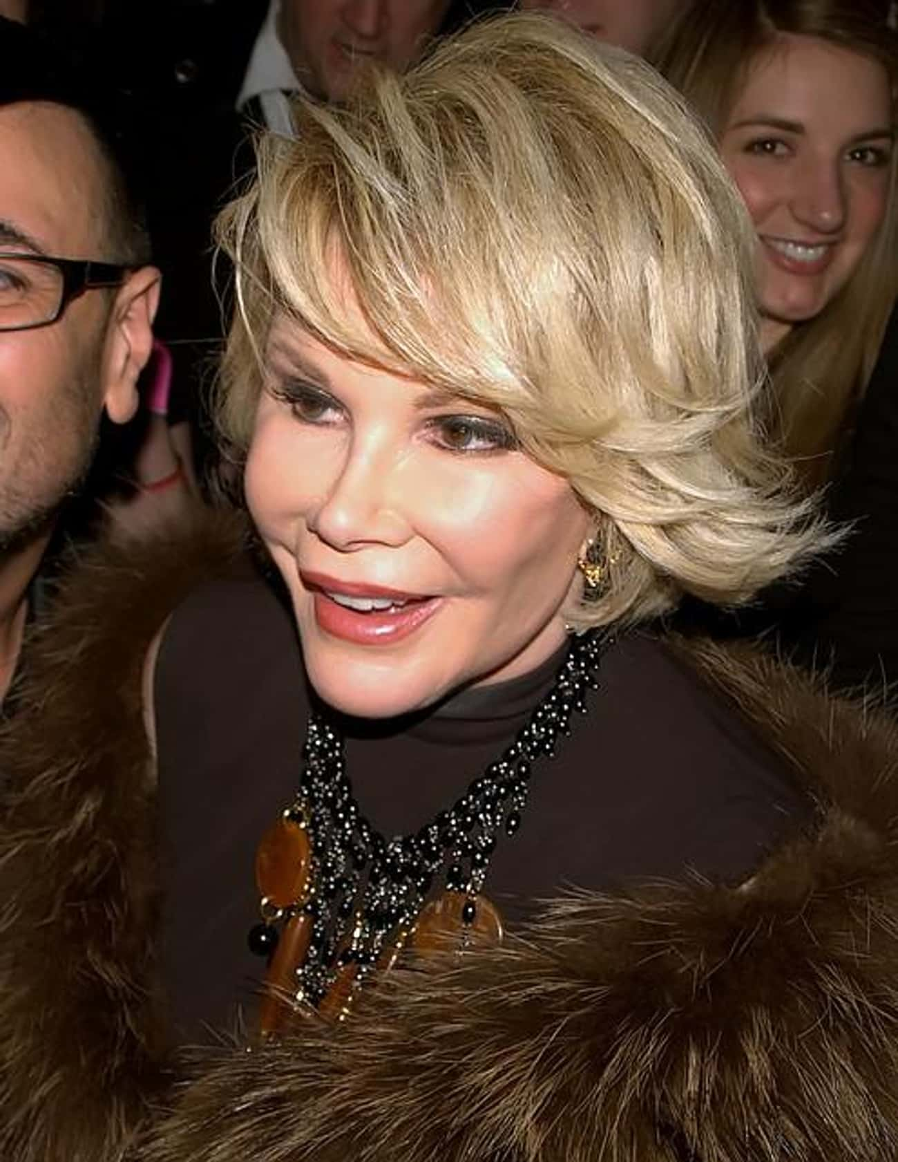 Joan Rivers is listed (or ranked) 1 on the list List of Famous Comedians
