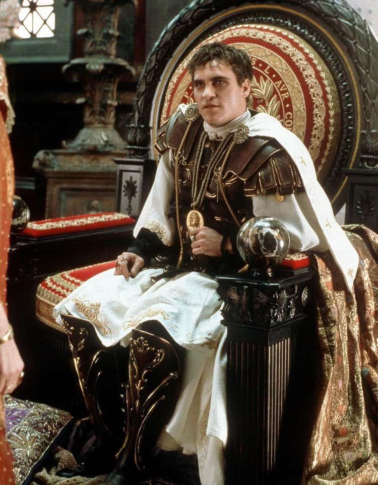 Joaquin Phoenix As Commodus In 'Gladiator'