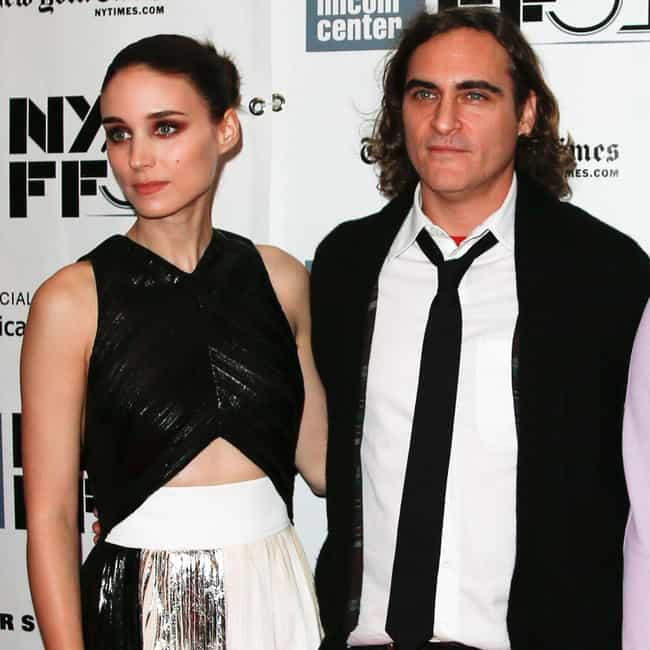 Joaquin Phoenix is listed (or ranked) 1 on the list All The Men Rooney Mara Has Dated