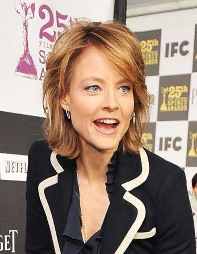 Jodie Foster is listed (or ranked) 2 on the list Famous Lesbian Actresses